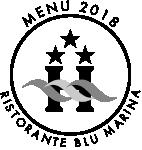 menu 2018 ristorante blu marina