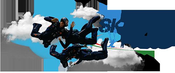 lancio con paracadute a Fano