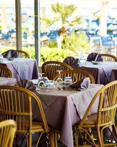 ristorante interno hotel marina fano